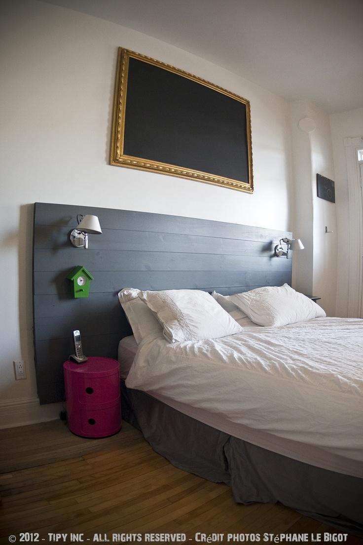 Wooden Shelf Headboard. See More. Tete De Lit By Tipy.ca