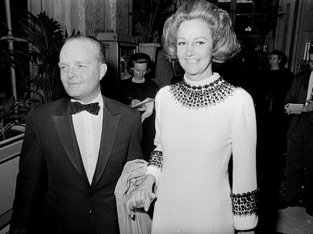Truman Capote's Black and White Ball in 1966.