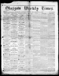 HOWARD COUNTY - GLASGOW -  1866-1869 « Chronicling America « Library of Congress