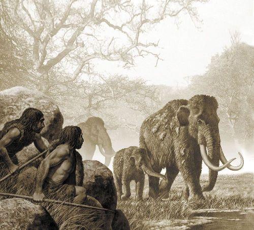 La ciencia también arrastra sus mitos Cazando Mammuths