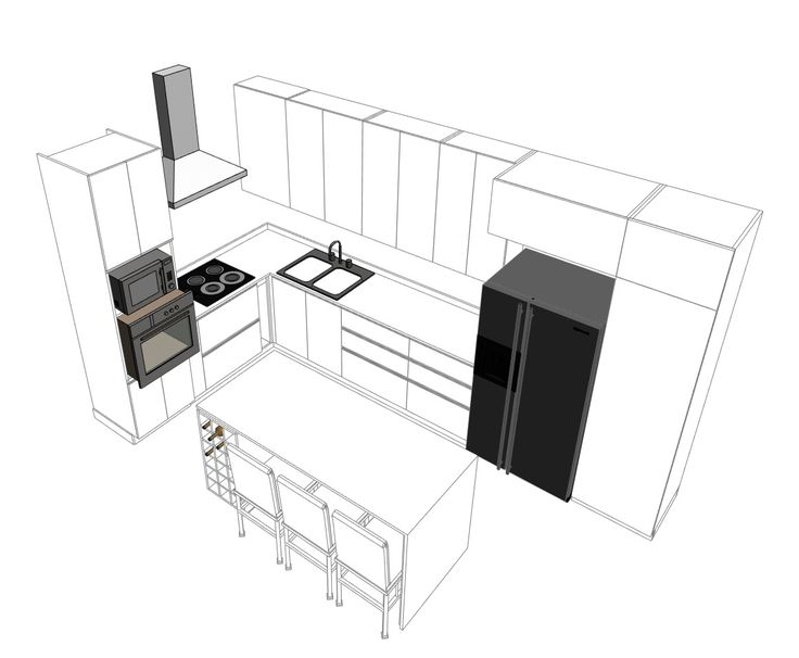 How to Correctly Design and Build a Kitchen,Courtesy of Arauco