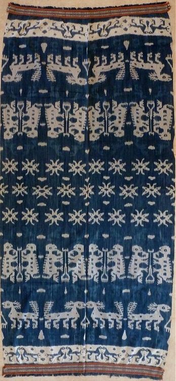indonesian ikat wall hanging