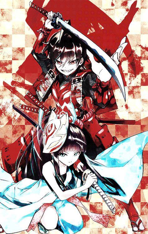 The Twin Stars ☆ Enmadou Rokuro & Adashino Benio