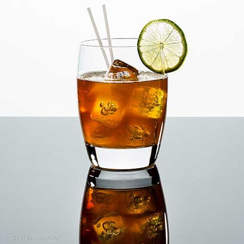 Dark and Stormy Cocktail | bowman international night | Pinterest