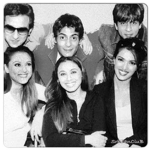 Shahrukh Khan and friends