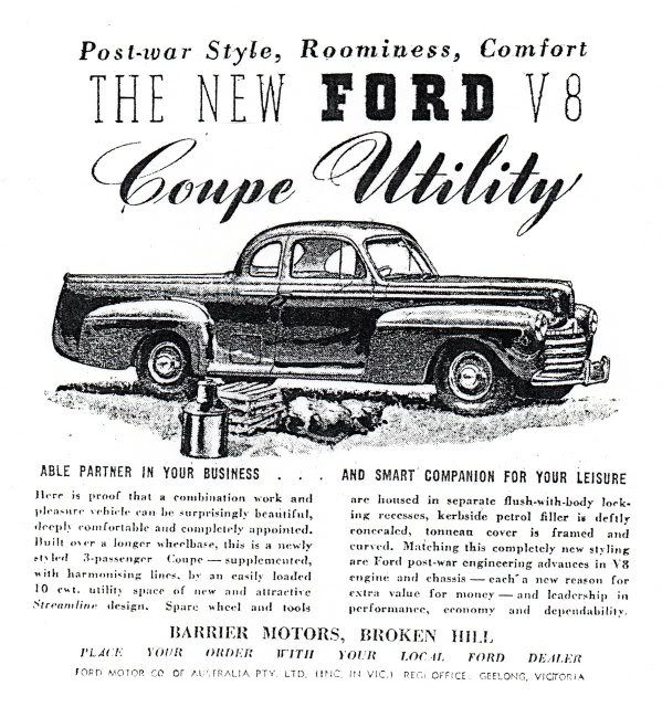 1955 ford ad car