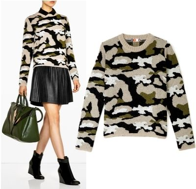 MSGM Camouflage Jumper LIDIASHOPPING.IT - SHOP ONLINE - WORLDWIDE SHIPPING