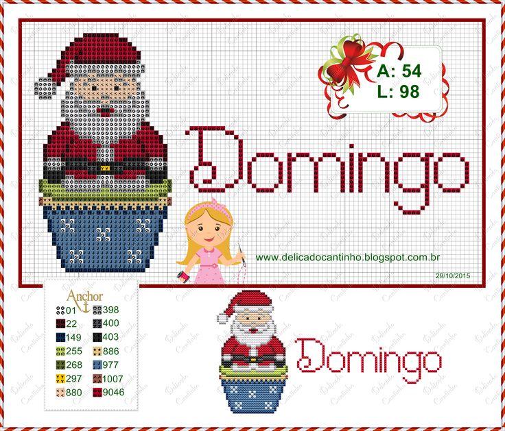 http://delicadocantinho.blogspot.com.br/2015/10/grafico-ponto-cruz-semaninha-de-natal.html