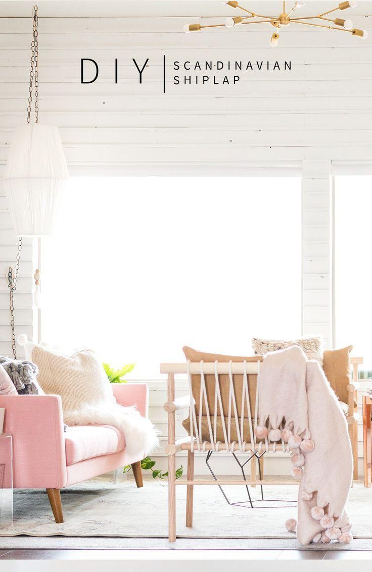 Diy Scandinavian Shiplap Home Decor Creative Home Decor Home Diy
