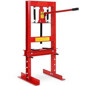 Timbertech – Presse hydraulique d'atelier – 6 Tonnes – 39 x 40 x 91 cm