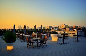 Topless: An open air bar/club on a rooftop in Beyoğlu