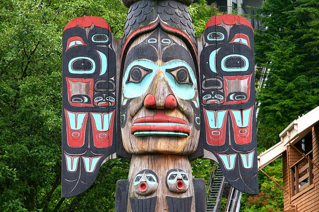 Ketchikan Totem Pole by Mike A., via Flickr