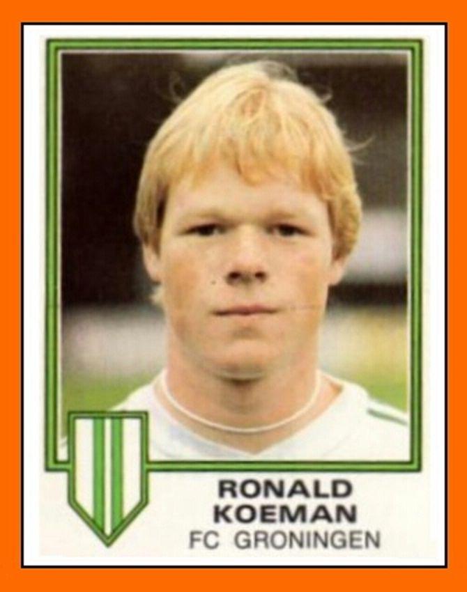 Cromo de Ronald Koema, FC Groningen 1980