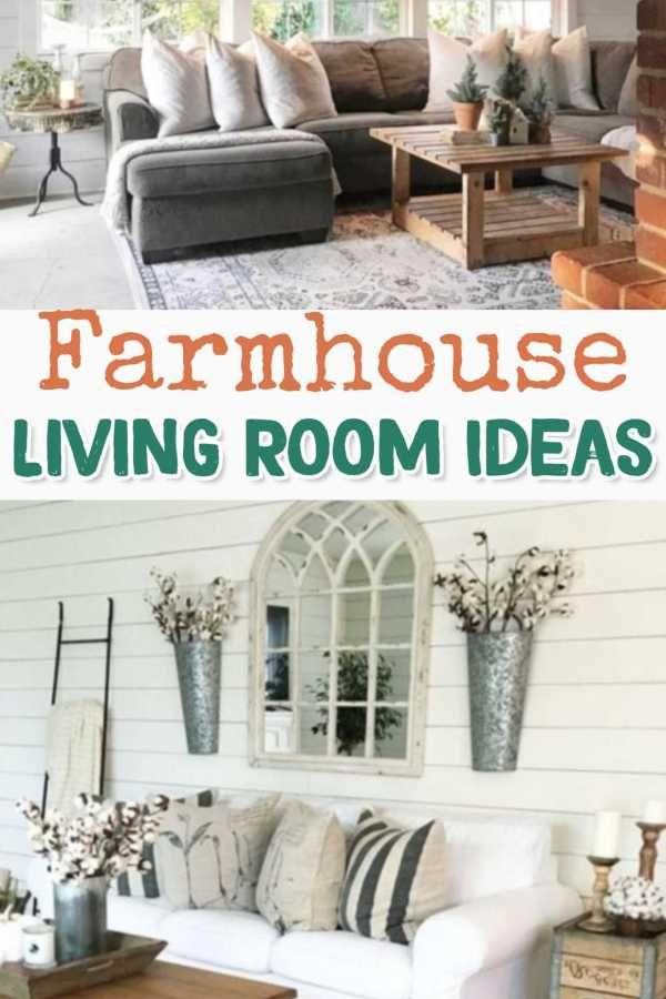 Modern Farmhouse Living Room Decor Ideas 18 Pinterest Com In 2020 Modern Farmhouse Living Room Farm House Living Room Farmhouse Decor Living Room