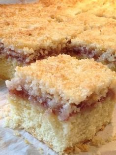 Coconut and Jam Slice Recipe & Country Funerals – Cauldrons and Cupcakes