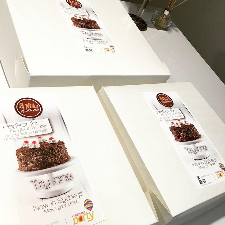 Genovesa cake -tresleches Sydney