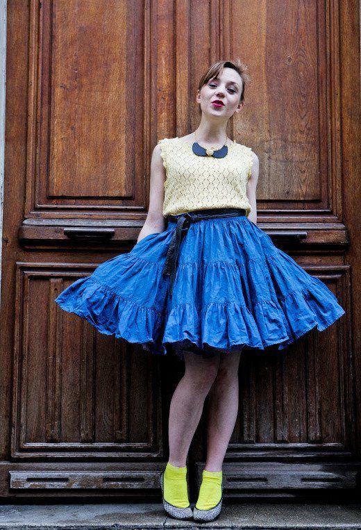 @roressclothes closet ideas #women fashion Pretty Retro Outfit Idea for Young Women