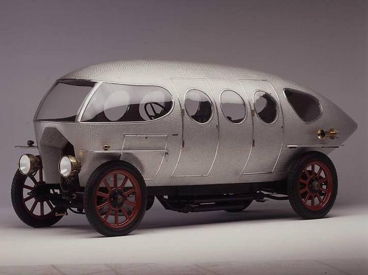 Alfa Romeo car prototype from 1914