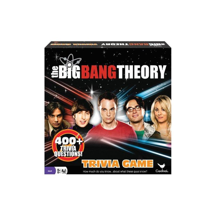 Cardinal The Big Bang Theory Trivia Game