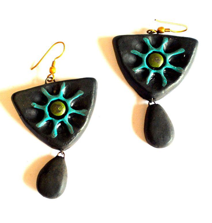 Terracotta Earrings from Lal10.com