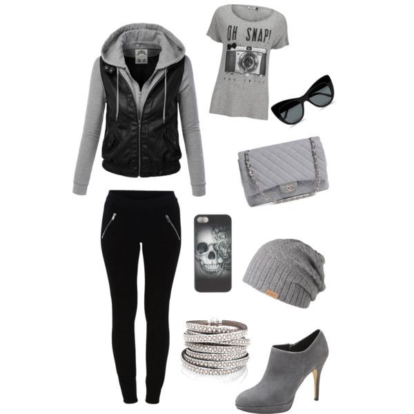 A fashion look from March 2015 featuring ONLY t-shirts, VILA leggings and Vince Camuto ankle booties. Browse and shop related looks.
