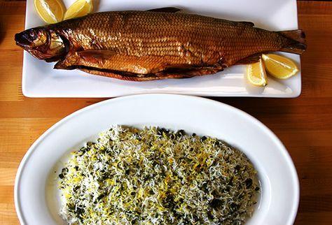 Sabzi Polo Mahi (Herbed Rice and Fish) for the Persian New Year