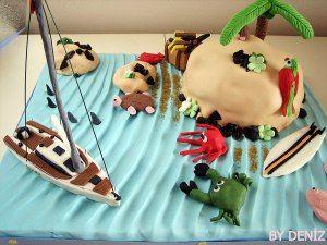 deniz | Sıradışı Pastalar