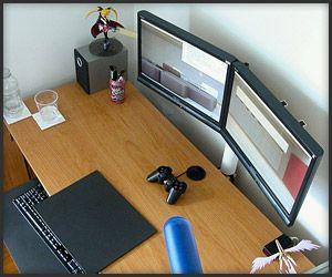DIY: Dual Monitor Stand