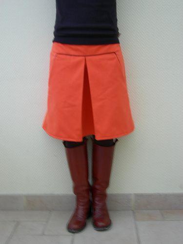 oranje rok van 'Ik ben Vink'