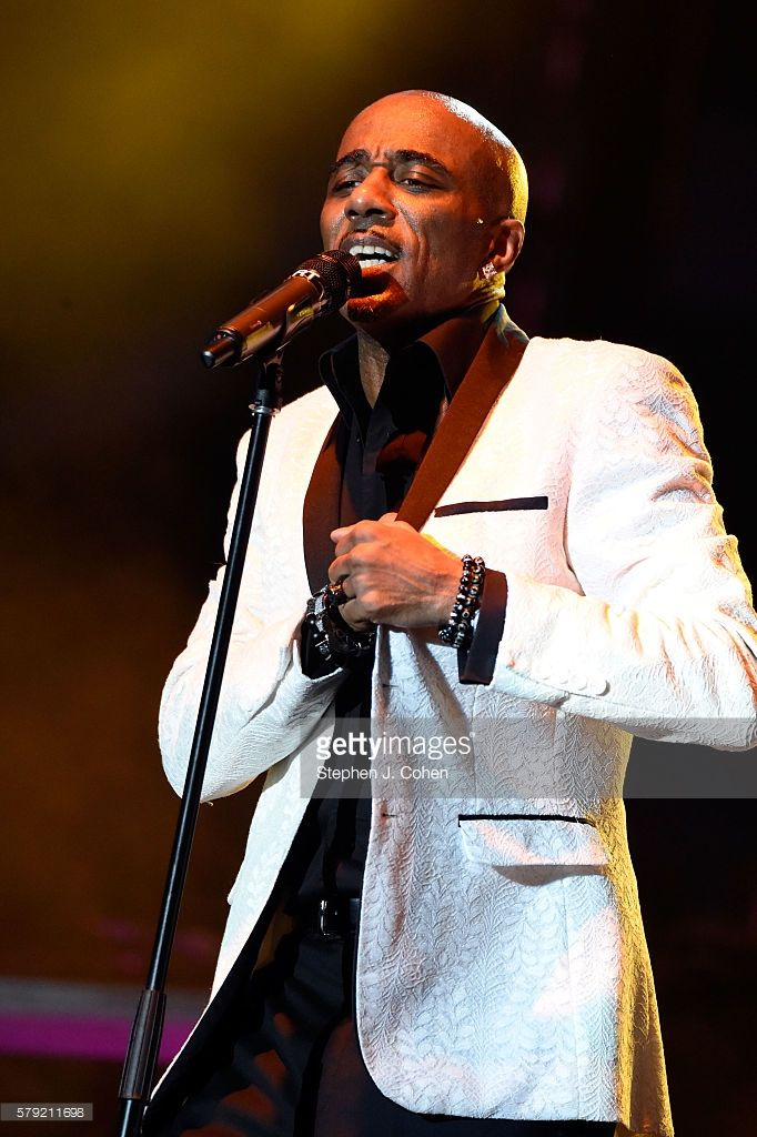 Ralph Tresvant of New Edition performs during the 2016 Cincinnati Music Festival at Paul Brown Stadium on July 22,…