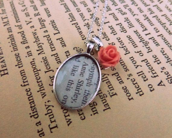 Anne Shirley. Anne of Green Gables Necklace.