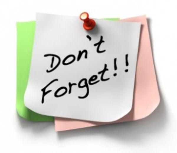 reminder sticky | Dont Forget Sticky Note X image - vector ...
