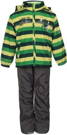 M&D Комплект верхней одежды  — 2200р. -------------------------- Красивый и яркий комплект для мальчика M&D, состоящий из ветровки, брюк и лонгслива, идеально подойдет для вашего ребенка в прохладную погоду. Ветровка изготовлена из полиэстера на мягкой хлопковой подкладке. Модель со съемным капюшоном застегивается на пластиковую молнию с защитой подбородка. Капюшон по краю дополнен затягивающимся шнурком со стопперами. Низ рукавов присборен на резинки. Спереди расположены два прорезных…