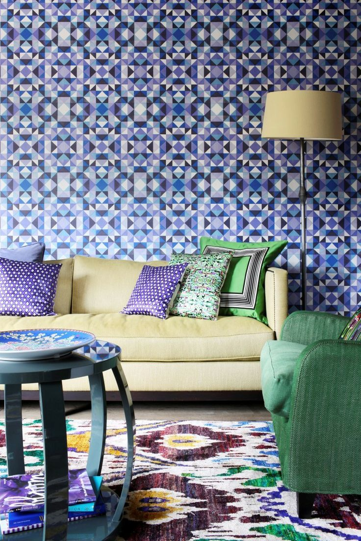 Latest Wallpaper Designs For Living Room