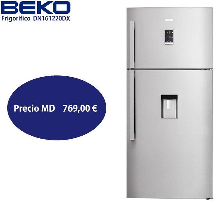 BEKO Frigorifico DN161220DX http://www.materialdirecto.es/es/frigorificos-dos-puertas/64729-beko-frigo-dn161220dx.html