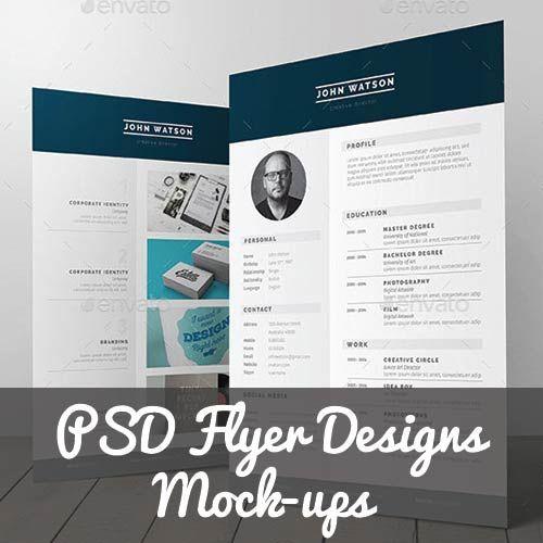 38 best Flyer Designs images on Pinterest Advertising, Flyers - gate fold brochure mockup