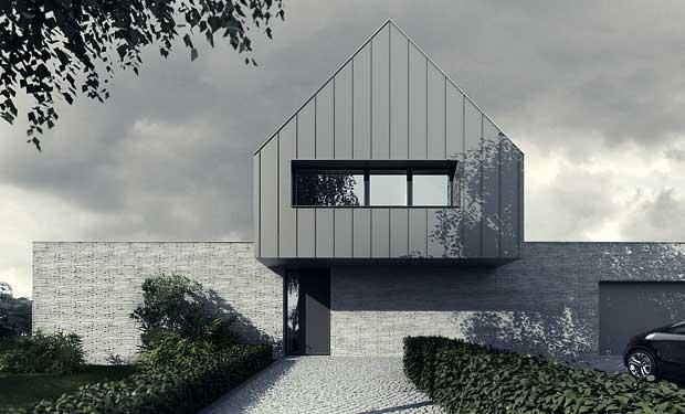 pk-house by tamizo architects group Farm House Pinterest
