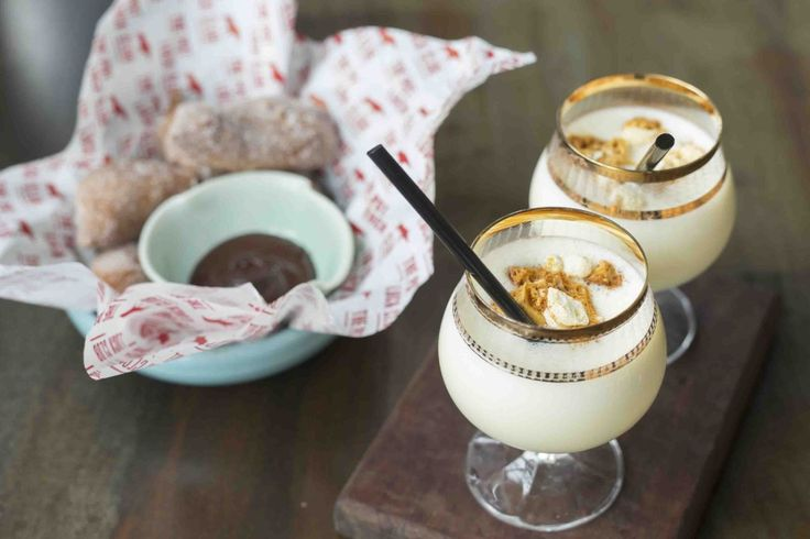 The Pot Luck Club  - Pop corn shake and Tonka churros 2