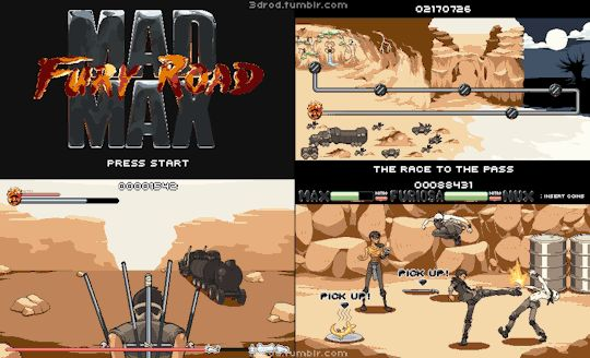 Mad Max Fury Road: The Game!