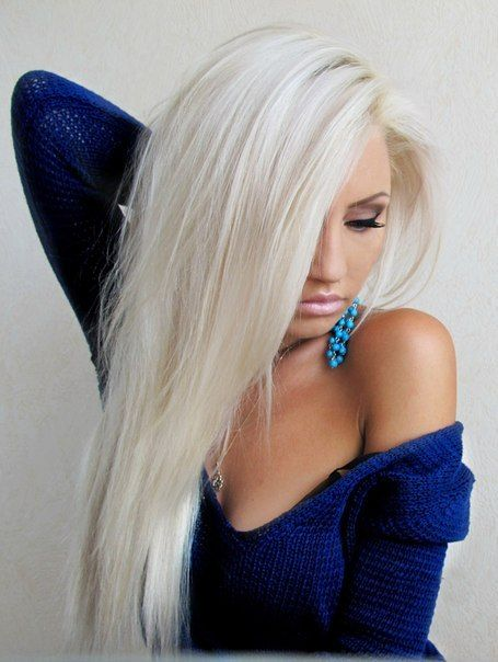 167 Best White Hair Images On Pinterest  Braids, Faces -7489