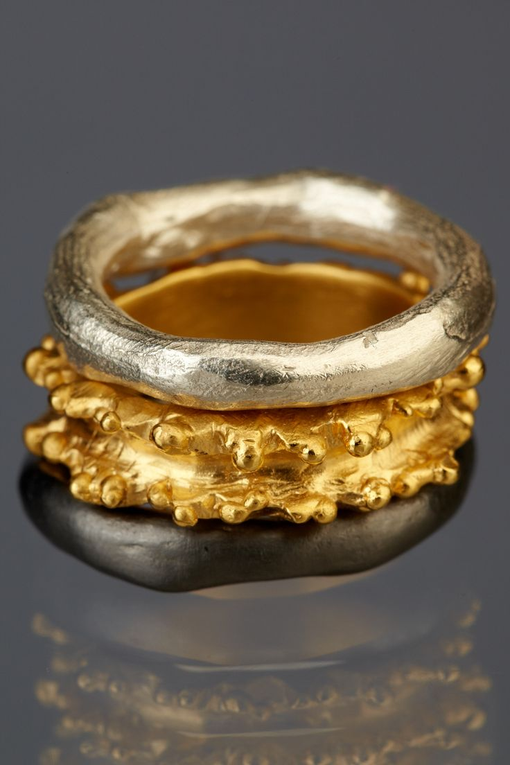 Rings and bangles Andrea Gutierrez Jewelry Los Angeles on FB | andrea@andreagutierrezjewelry.com