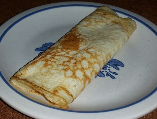 These crepes have no inherent sweetness, which allows them to fully take on the flavor of their filling. The sweet filling on this recipe works well by itself or with fruit or just about anything that would work well with a sweet flavor. The filling can be left out and replaced with any other filling as well.
