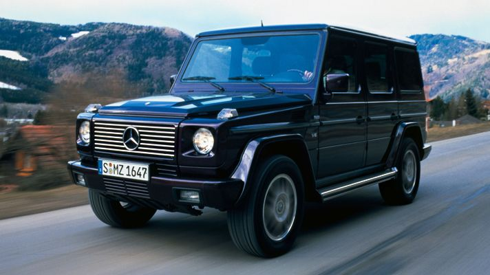 Mercedes G Class:  Think I'll get this next!    I'm growing tired of my 2-seater convertible; think it's time for more room... and some rugged fun!