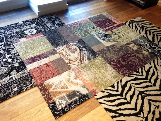 do it yourself rugs, runners and carpets!
