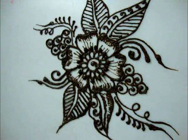 Tutorials On How To Draw Flower Designs For Beginners