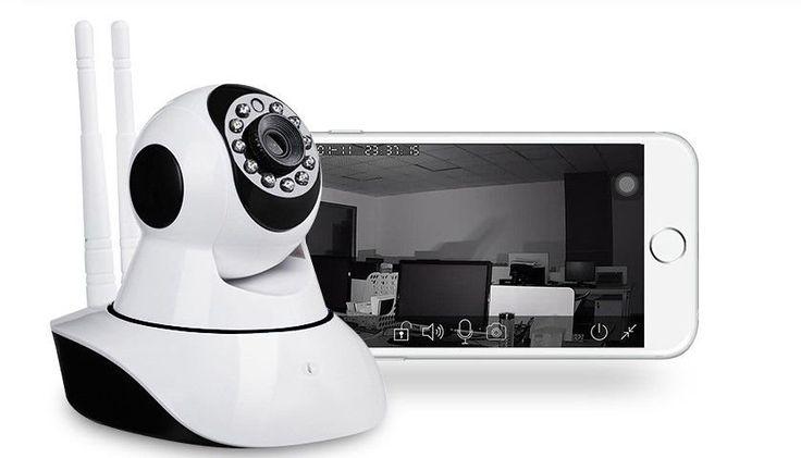 Câmera Ip 1.3 Mp Alta Resolução Hd 720 P2p Noturna Wireless