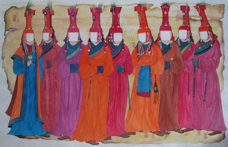'I DONT KNOW' acrylic, korean paper 203x130 cm 2007