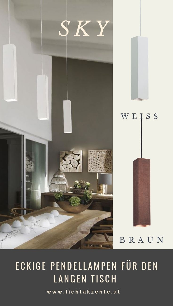 Ideal Lux Eckige Led Hangeleuchte Sky Esstisch Beleuchtung Lampe Esszimmertisch Pendelleuchte