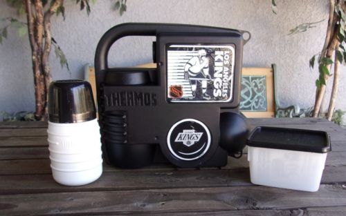 detailed look 4cf35 d1fbb LA Kings Hockey Lunchbox System With Thermos & Container ...