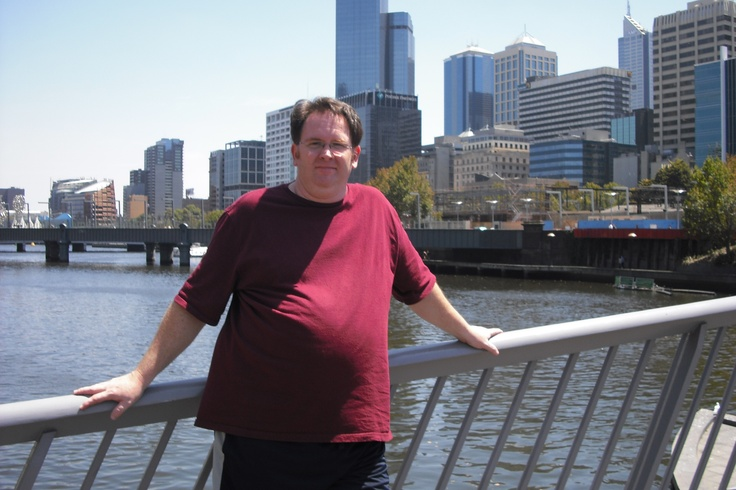 Me real fat in Australia, January 2009  286 lbs (130 kg)